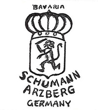 Carl Schumann Porcelain Factory was founded in 1881.