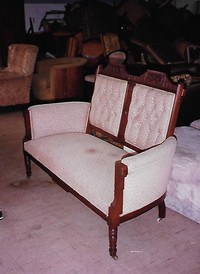 Eastlake furniture was made from 1870 to 1890.