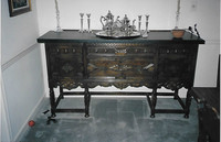 The Colonial Revival period peaked around 1920.