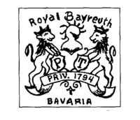 Royal Bayreuth Porcelain Factory was founded over 200 years ago.