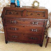 Victorian desk serves as family heirloom.