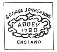"""""""Abbey 1790"""" was a pattern used by several English potters."""