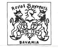 Royal Bayreuth Porcelain Factory was located in Bavaria.