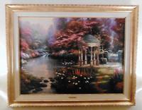 Thomas Kinkade painted scenes of hearth and home.