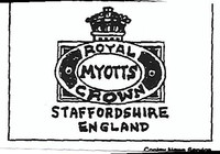 Myott Son and Co. was founded in 1898.