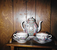 Chinese exported Famille Rose porcelain.