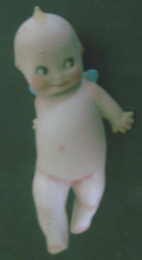 Kewpies were the creation of Rose O'Neill in 1912.