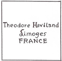 Theodore Haviland China was founded in Limoges, France, in 1925.