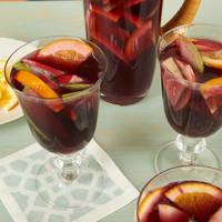 Sassy fresh fruits, like lemon and lime, give pizzazz to Sangria Iced Tea.