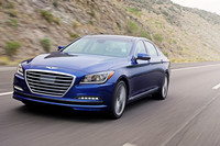 The 2015 Genesis has qualities of an American-class sedan — big and comfortable with power — but with the European style of stability to the ride quality.