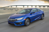 The 2016 Honda Civic coupe starting prices range from $20,000 to $27,000.