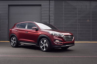 The Tucson is sold in front- or all-wheel drive models with two choices for engine and transmission.