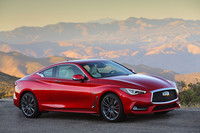 The Q60 is sold in rear- or all-wheel drive models with three engine options, each with a seven-speed automatic transmission.