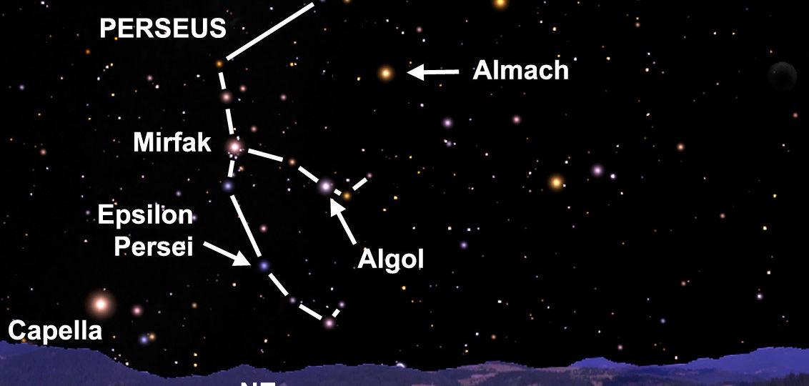 Resultado de imagem para Algol (Beta Persei)