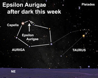 Learn about the mysterious case of Epsilon Aurigae this week.