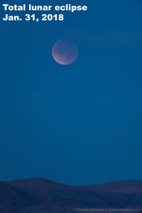 Get ready for a total lunar eclipse this week.
