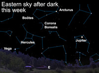 Learn why the night sky is dark this week.