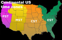 Time zones were established in the U.S. in 1918 by way of the Standard Time Act.