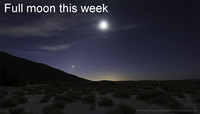 Listen to the moon after dark this week.