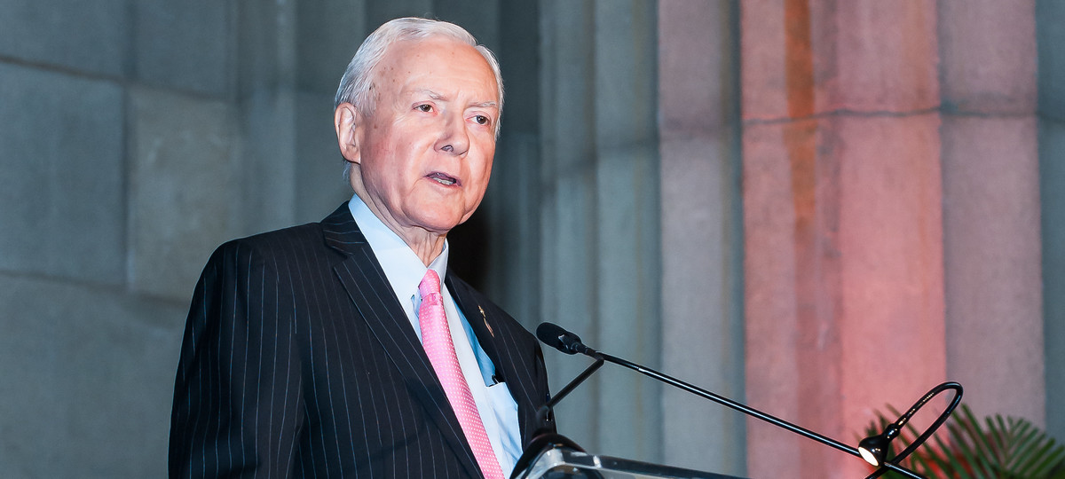 An Unfond Farewell to Un-statesman Orrin Hatch