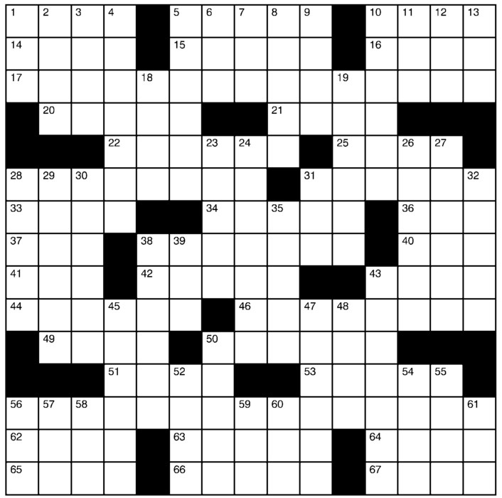 Charles Preston Crossword for Sep 09, 2018