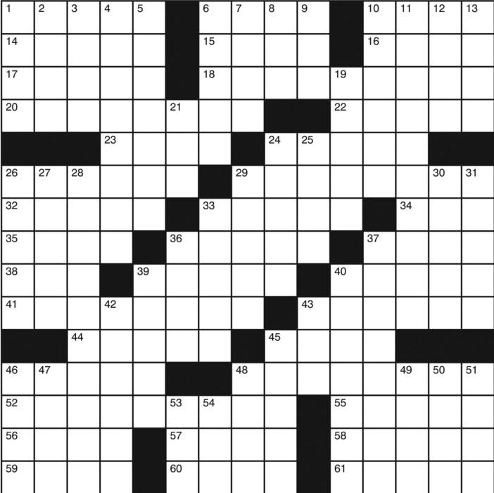 Charles Preston Crossword for Mar 10, 2019