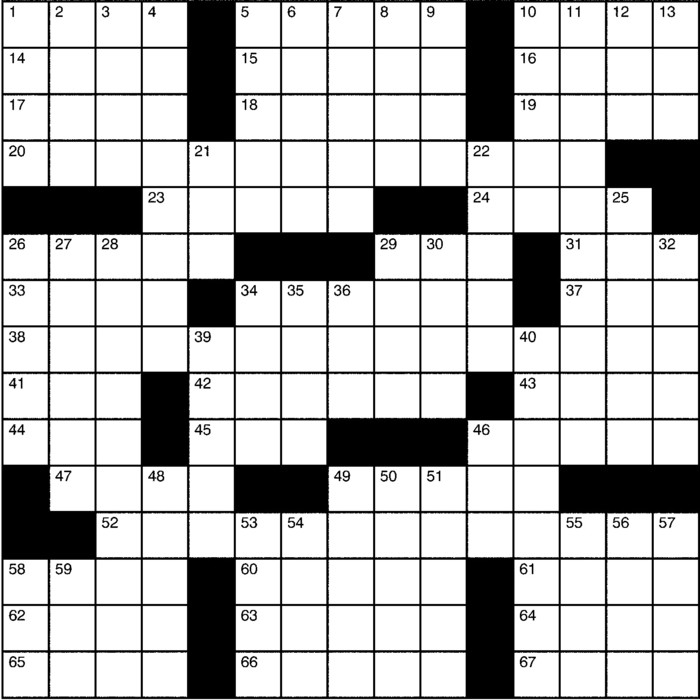 Charles Preston Crossword for Mar 17, 2019