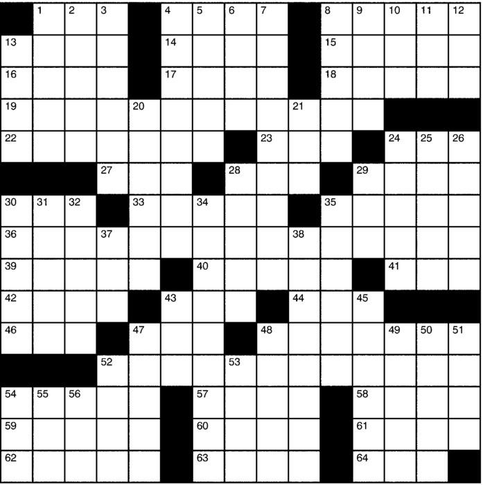 Charles Preston Crossword for Mar 03, 2019