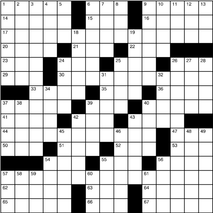 Charles Preston Crossword for Jun 23, 2019