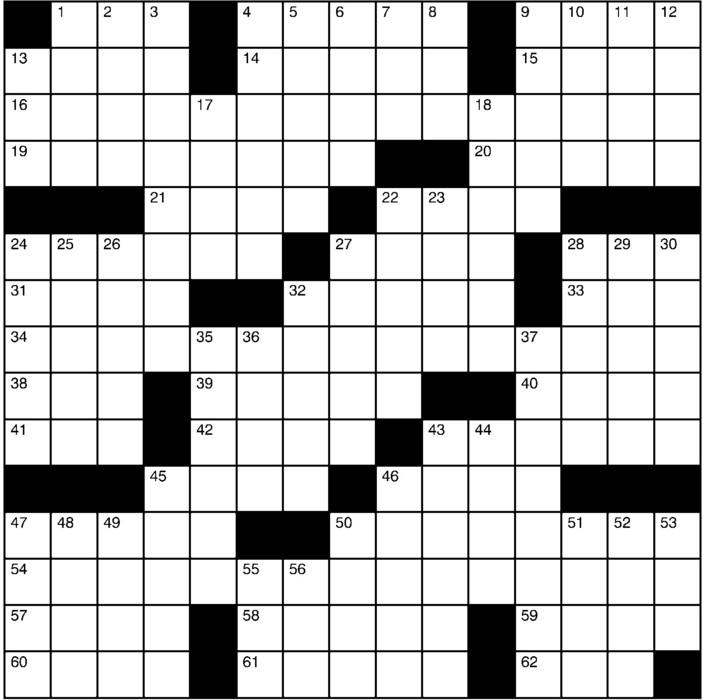 Charles Preston Crossword for May 26, 2019