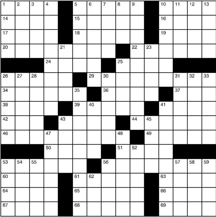 Charles Preston Crossword for Oct 20, 2019