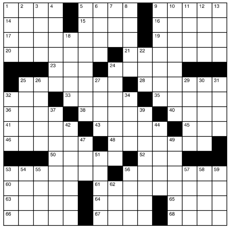 Charles Preston Crossword for Nov 17, 2019