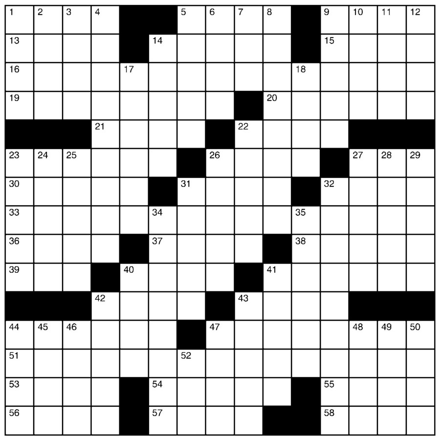 Charles Preston Crossword for Nov 10, 2019