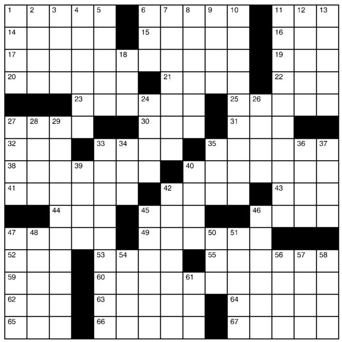 Charles Preston Crossword for Jan 17, 2021