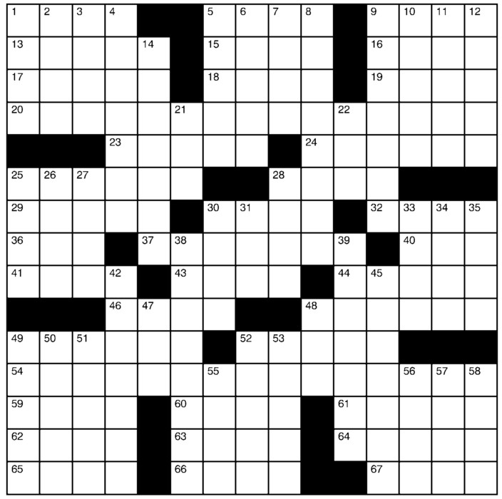 Charles Preston Crossword for Jan 24, 2021