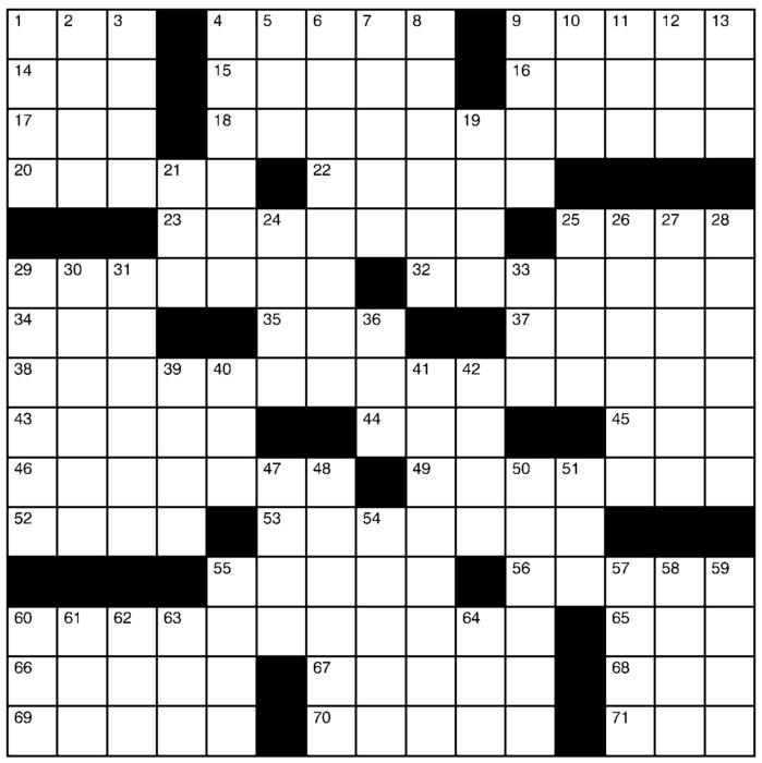 Charles Preston Crossword for May 09, 2021