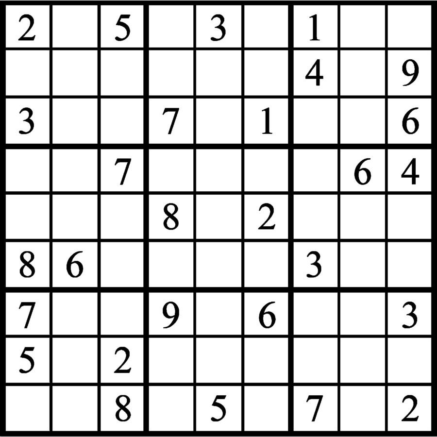 Janric Classic Sudoku for Sep 22, 2018
