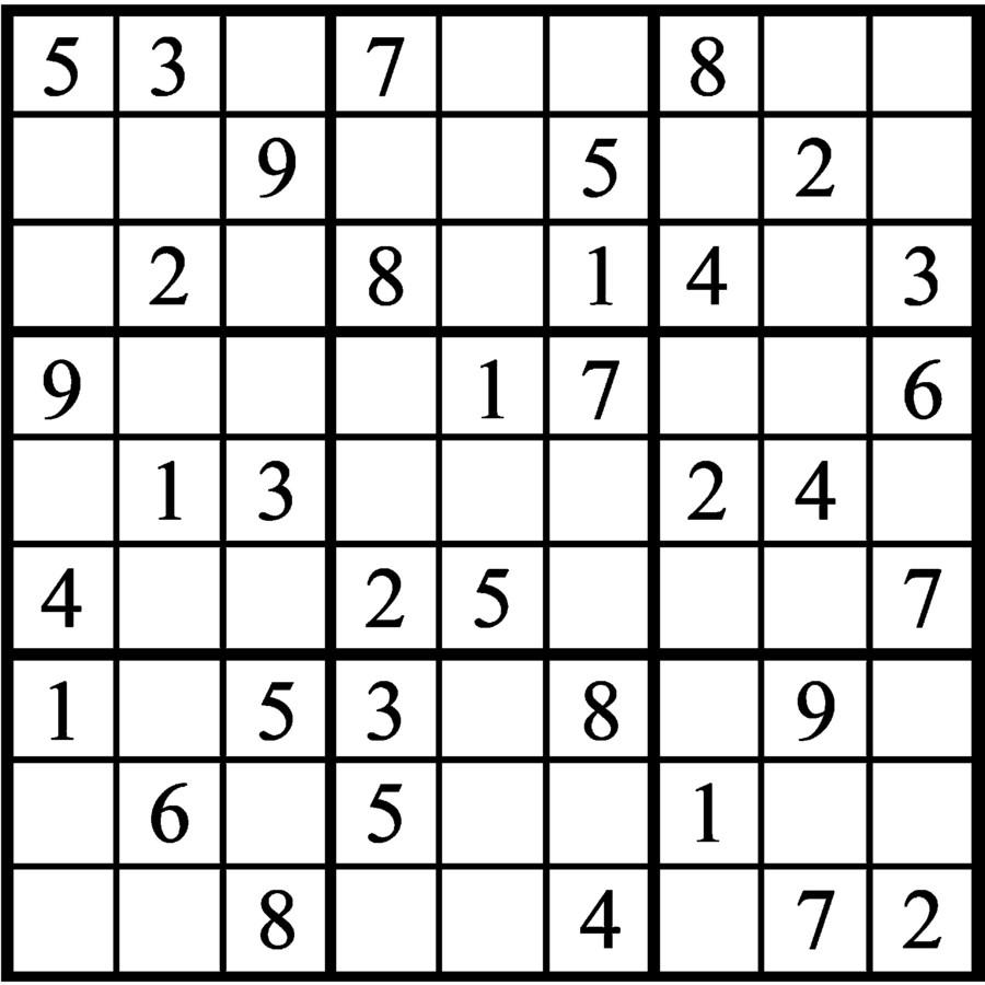 Janric Classic Sudoku for Dec 06, 2018