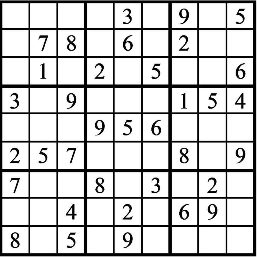 Janric Classic Sudoku for Jan 20, 2019