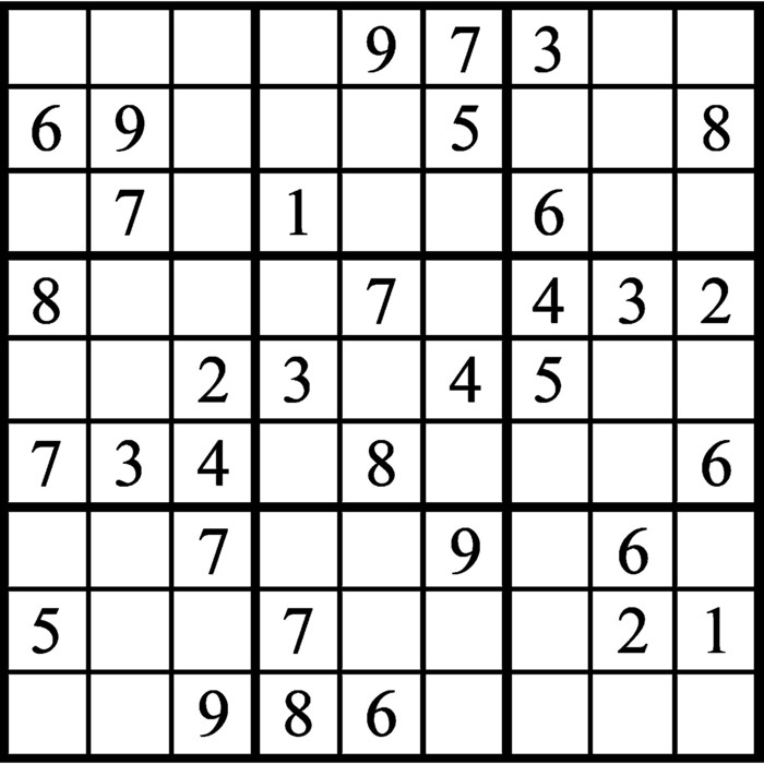 Janric Classic Sudoku for Mar 24, 2019