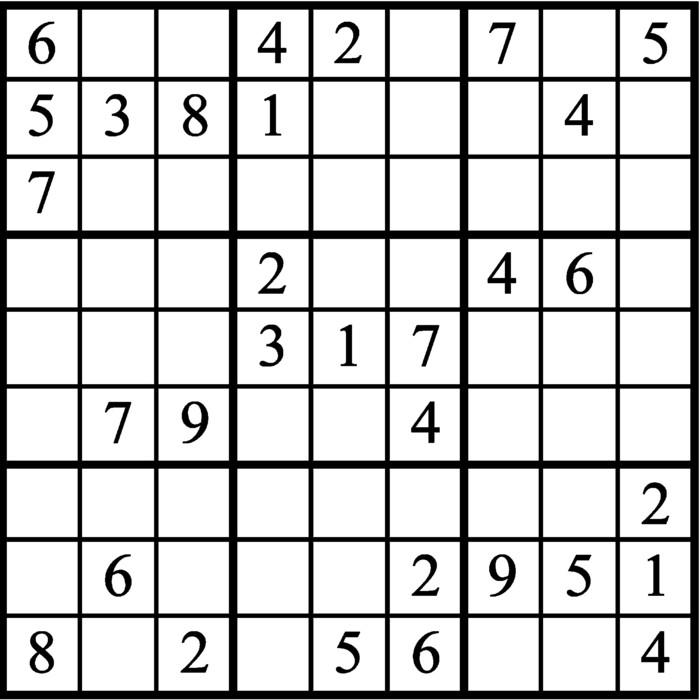 Janric Classic Sudoku for Jul 23, 2019