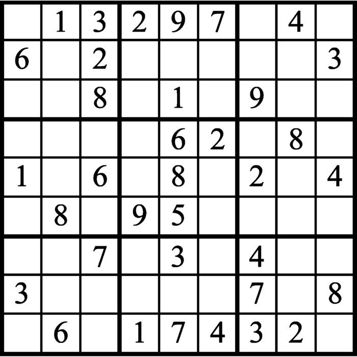Janric Classic Sudoku for Aug 15, 2019