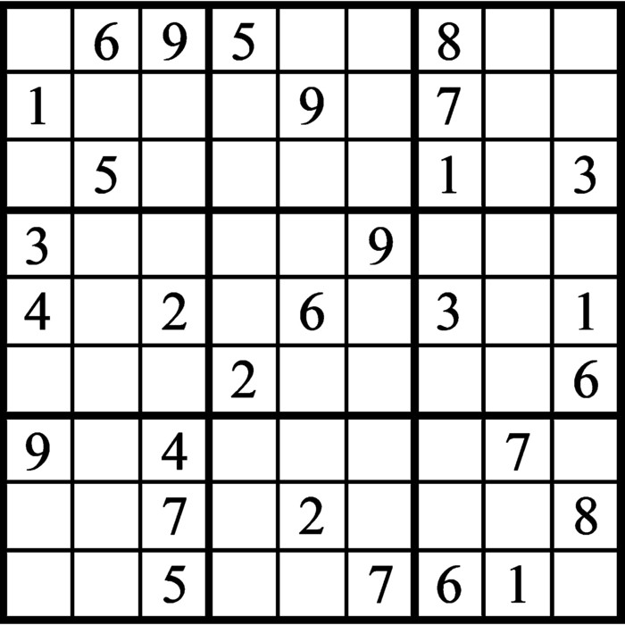 Janric Classic Sudoku for Nov 13, 2019