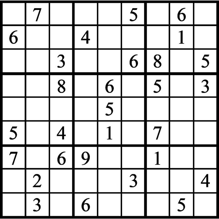 Janric Classic Sudoku for Dec 14, 2019