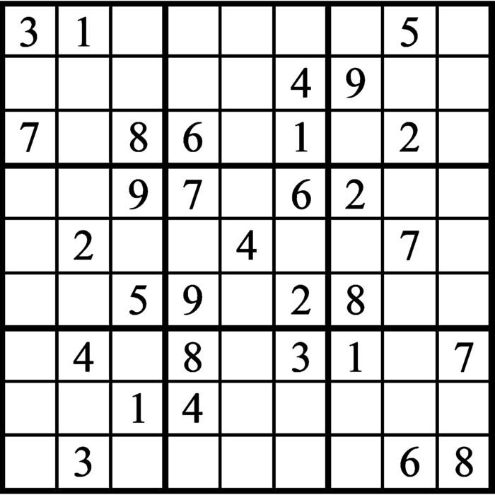 Janric Classic Sudoku for Jan 24, 2020
