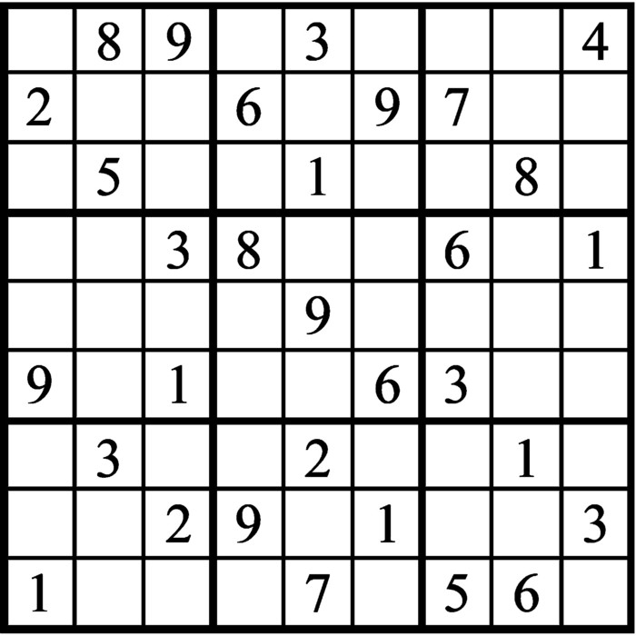 Janric Classic Sudoku for Jan 14, 2020