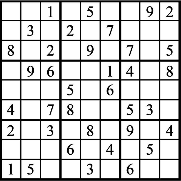 Janric Classic Sudoku for Jan 27, 2020