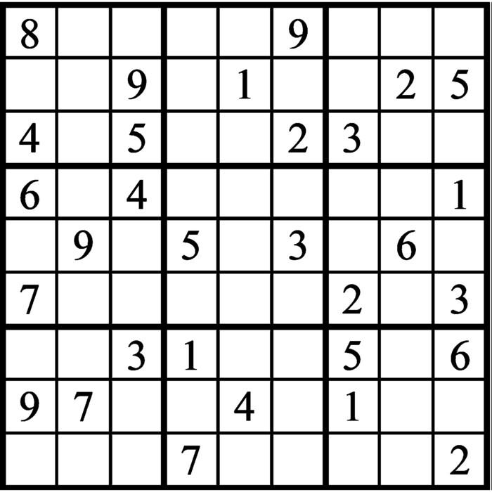 Janric Classic Sudoku for Feb 14, 2020