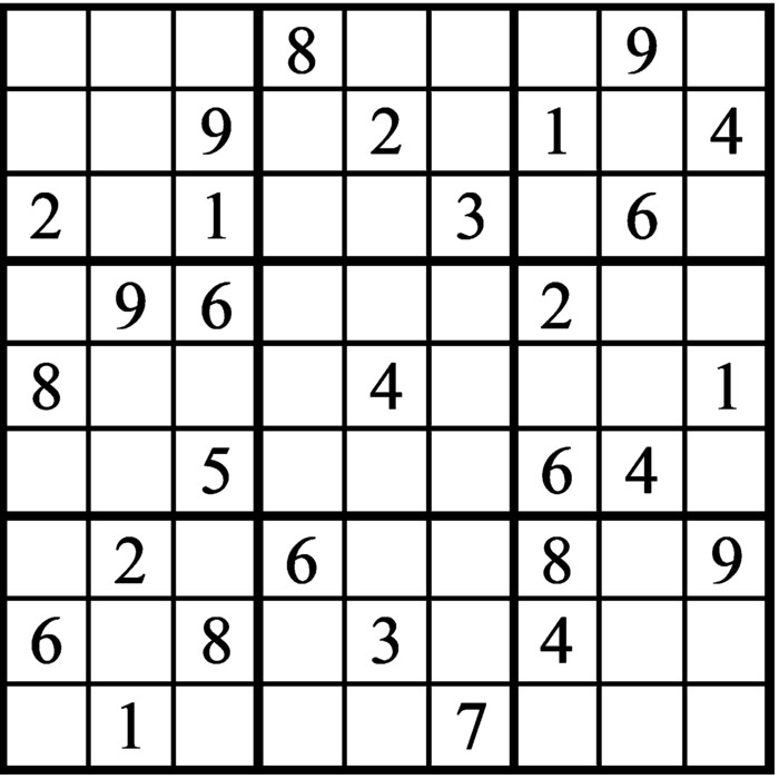Janric Classic Sudoku for May 23, 2020