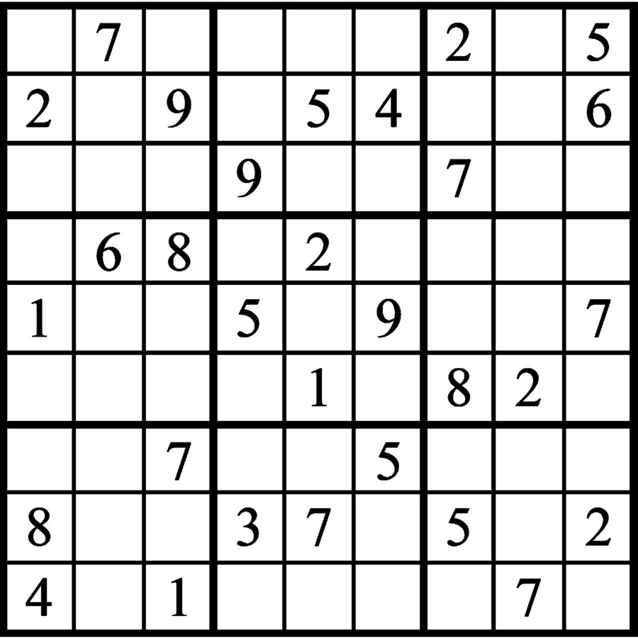 Janric Classic Sudoku for Jun 05, 2020
